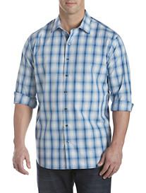 Synrgy® Ombré Plaid Sport Shirt