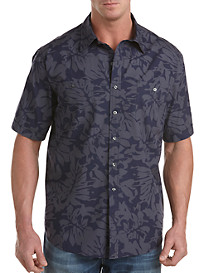 Synrgy™ Tropical Print Sport Shirt
