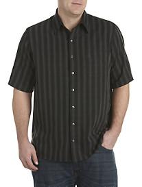 Synrgy™ Ombré Stripe Microfiber Sport Shirt
