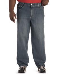 Lee® Custom-Waist Loose-Fit Jeans
