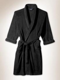 Soft Touch Textured Fleece Robe