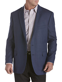 Oak Hill® Windowpane Plaid Sport Coat