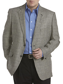 Oak Hill® Glen Plaid Sport Coat