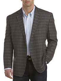 Oak Hill® Large Plaid Sport Coat
