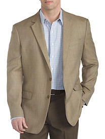 Oak Hill® Tan Mixture Solid Jacket-Relaxer® Sport Coat