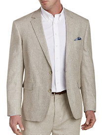 Oak Hill® Linen-Blend Suit Jacket