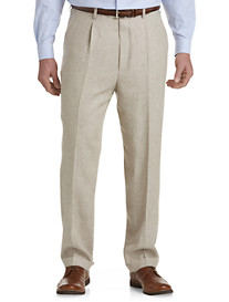 Oak Hill® Pleated Suit Pants