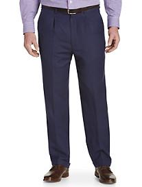 Oak Hill® Linen-Blend Pleated Suit Pants