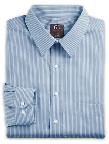 Gold Series Continuous Comfort® Bengal Stripe Dress Shirt ( Mix & Match Geoffrey Beene, Gold Series & Synrgy Dress Shirts )