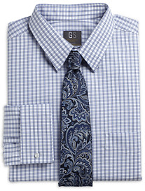 Gold Series Continuous Comfort Check French-Cuff Dress Shirt