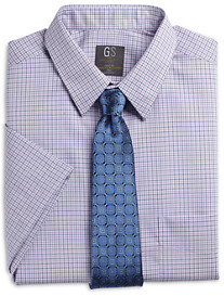 Gold Series Continuous Comfort Check Dress Shirt