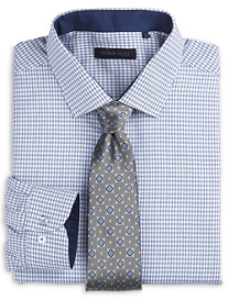 Andrew Fezza Houndstooth Dress Shirt