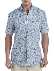 Nautica® Indigo Palms Sport Shirt