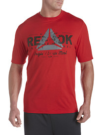 Reebok PlayDry® Delta Graphic Screen Tee