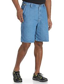 Wrangler® Angler Flat-Front Shorts