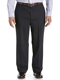 Jean Paul Germain Pleated Stripe Suit Pants