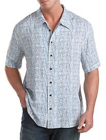 Island Passport® Batik Print Sport Shirt