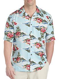 Island Passport® Hawaiian Print Camp Shirt