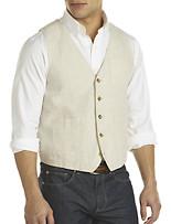Perry Ellis® Natural Linen Vest