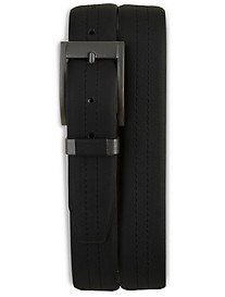 Harbor Bay® Black Leather Belt