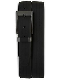 Harbor Bay® Black Leather Belt