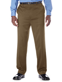 Gold Series Continuous Comfort® Flat-Front Sateen Pants – Unhemmed