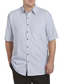Harbor Bay® Check Microfiber Sport Shirt