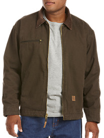 Berne® Fleece-Lined Original Washed Gasoline Jacket