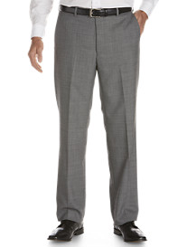Palm Beach® Flat-Front Suit Pants