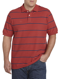 Harbor Bay® Large Stripe Polo