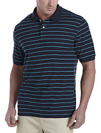 Harbor Bay® Mini Stripe Polo
