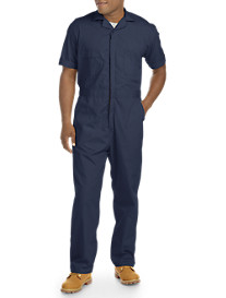 Berne Poplin Short Sleeve Coveralls