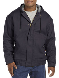 Berne® Flame-Resistant Quilt-Lined Hooded Jacket