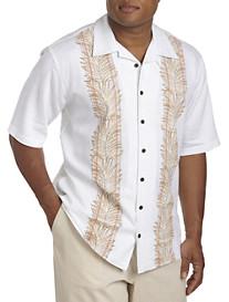 Island Passport® Paneled Camp Shirt