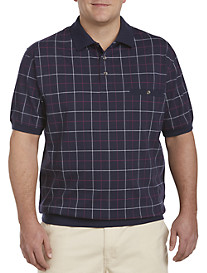 Harbor Bay® Double-Square Banded-Bottom Shirt