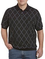 Harbor Bay® Double-Diamond Banded-Bottom Shirt