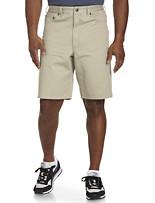 True Nation® Khaki Denim Shorts