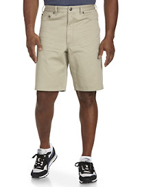 True Nation® Khaki Denim Shorts