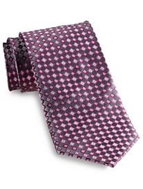 Geoffrey Beene® Spring Flannel Neat Silk Tie