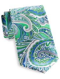 Geoffrey Beene® Multi Paisley Silk Tie