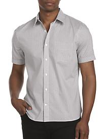 Perry Ellis® Small-Print Sport Shirt