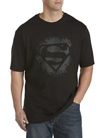 Superman Black Logo Screen Tee