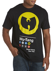 Wu-Tang Subway Screen Tee