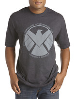 Marvel Comics Shield Eagle Logo Screen Tee