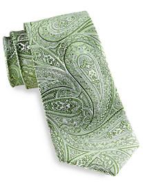 Synrgy™ Obsidian Paisley Silk Tie