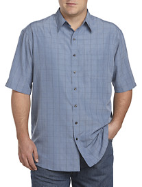 Harbor Bay® Patterned Microfiber Sport Shirt