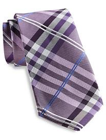 Geoffrey Beene® Petros Plaid Silk Tie