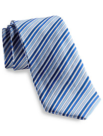 Geoffrey Beene® Stripe Done Right Silk Tie