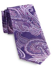 Geoffrey Beene® Saturated Paisley Silk Tie