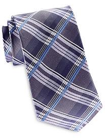 Geoffrey Beene Textured Petra Plaid Tie